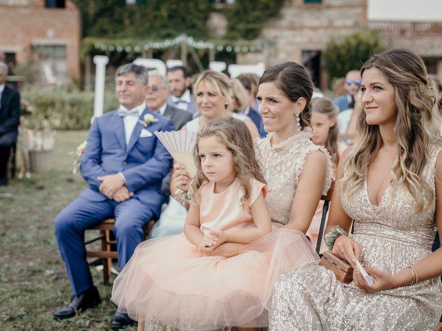 Il matrimonio di Valerio e Claudia a San Quirico d'Orcia, Siena 45