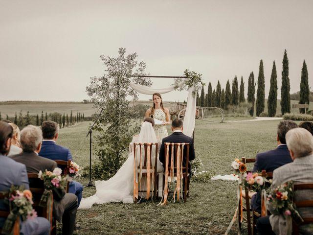 Il matrimonio di Valerio e Claudia a San Quirico d'Orcia, Siena 46