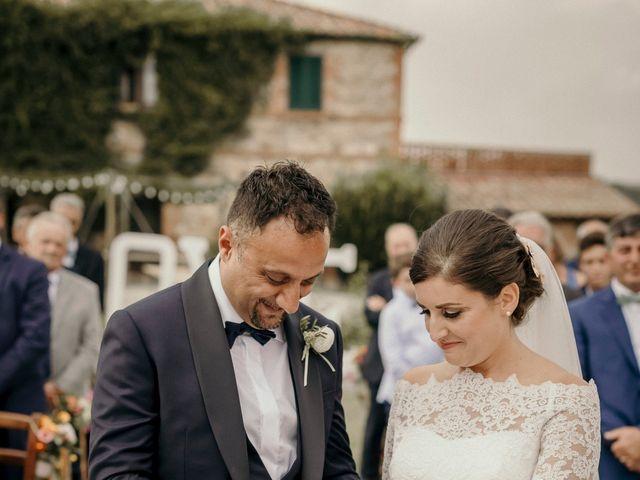 Il matrimonio di Valerio e Claudia a San Quirico d'Orcia, Siena 50