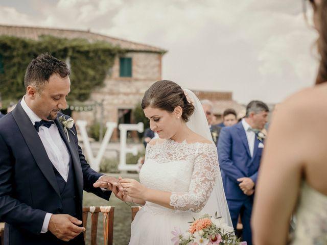 Il matrimonio di Valerio e Claudia a San Quirico d'Orcia, Siena 51