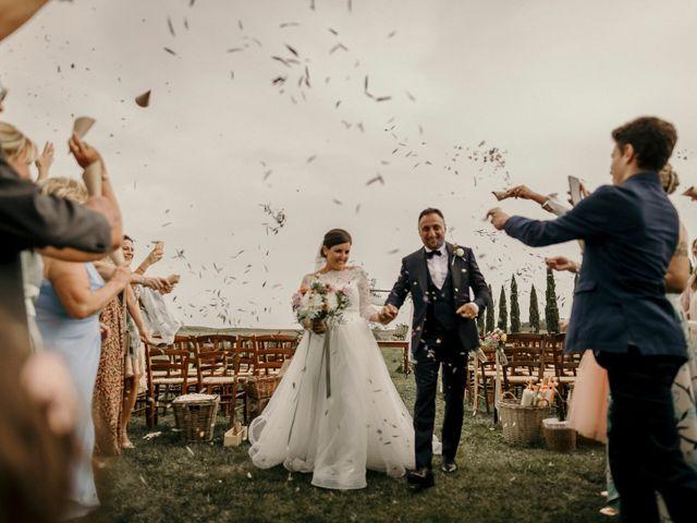 Il matrimonio di Valerio e Claudia a San Quirico d'Orcia, Siena 55