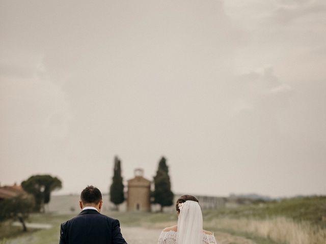 Il matrimonio di Valerio e Claudia a San Quirico d'Orcia, Siena 59