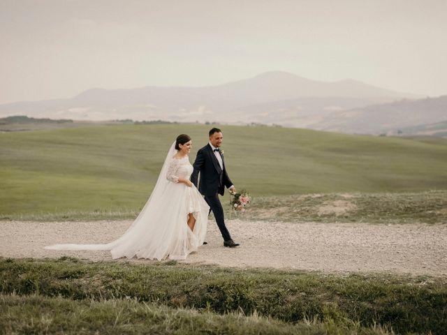 Il matrimonio di Valerio e Claudia a San Quirico d'Orcia, Siena 60