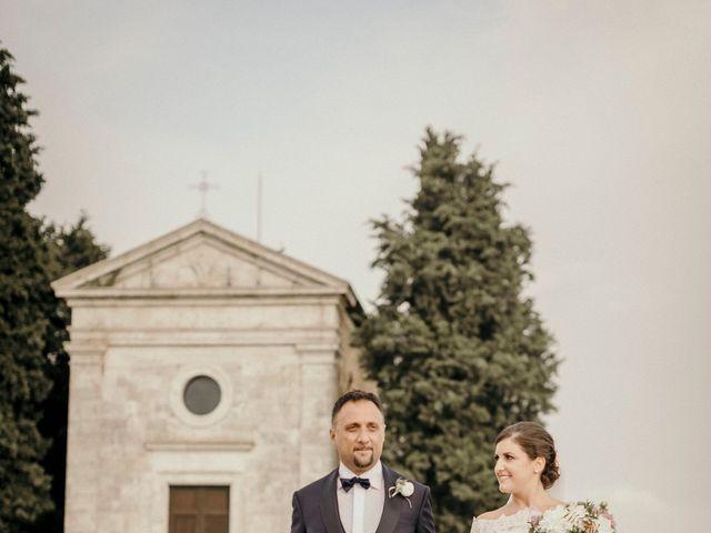 Il matrimonio di Valerio e Claudia a San Quirico d'Orcia, Siena 61