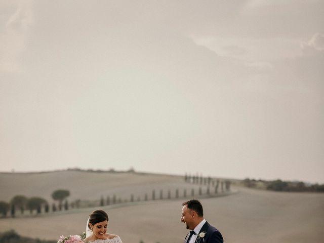 Il matrimonio di Valerio e Claudia a San Quirico d'Orcia, Siena 62