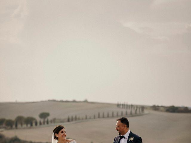Il matrimonio di Valerio e Claudia a San Quirico d'Orcia, Siena 63