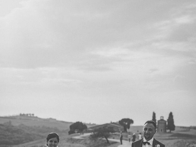 Il matrimonio di Valerio e Claudia a San Quirico d'Orcia, Siena 64
