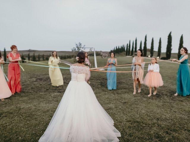 Il matrimonio di Valerio e Claudia a San Quirico d'Orcia, Siena 74