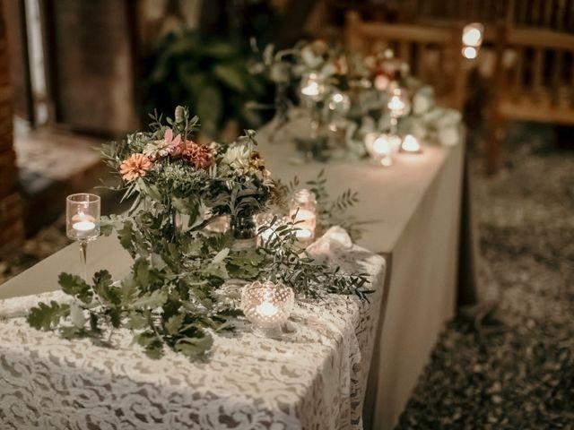 Il matrimonio di Valerio e Claudia a San Quirico d'Orcia, Siena 77