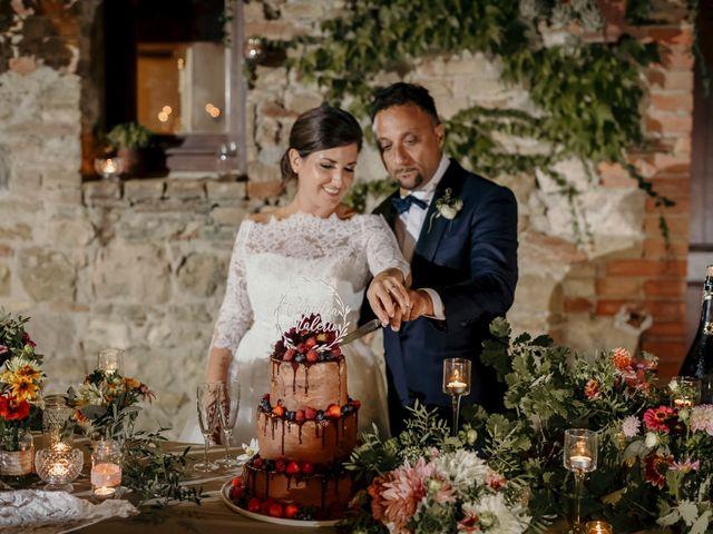 Il matrimonio di Valerio e Claudia a San Quirico d'Orcia, Siena 83