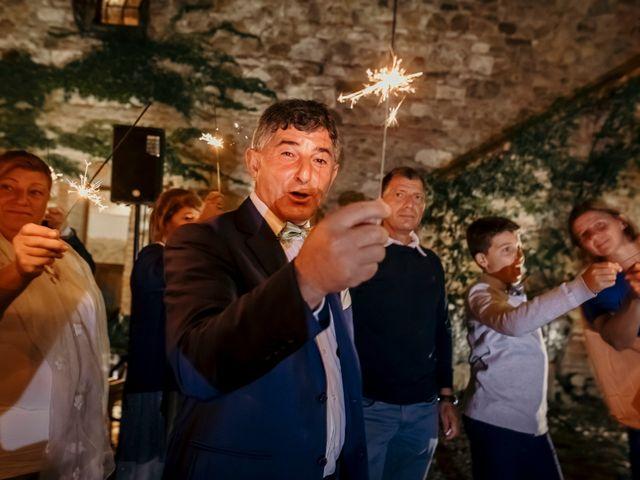Il matrimonio di Valerio e Claudia a San Quirico d'Orcia, Siena 85