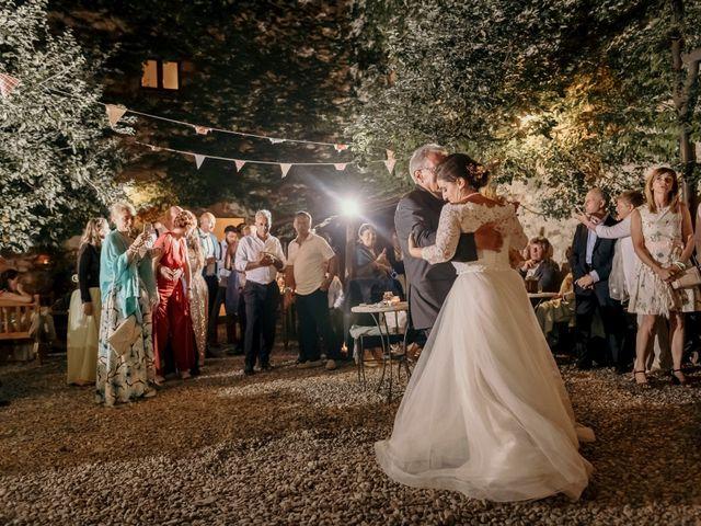 Il matrimonio di Valerio e Claudia a San Quirico d'Orcia, Siena 87