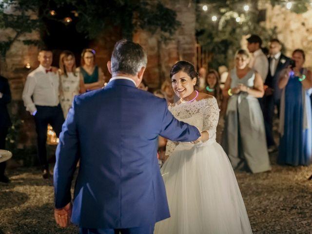 Il matrimonio di Valerio e Claudia a San Quirico d'Orcia, Siena 88