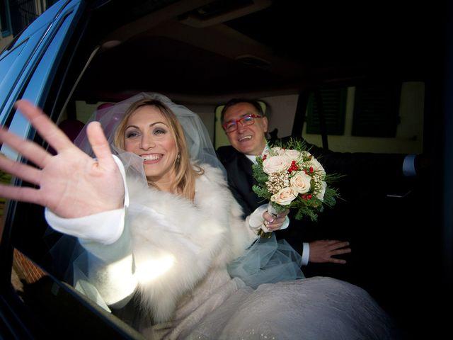 Il matrimonio di Stefano e Sara a San Miniato, Pisa 8