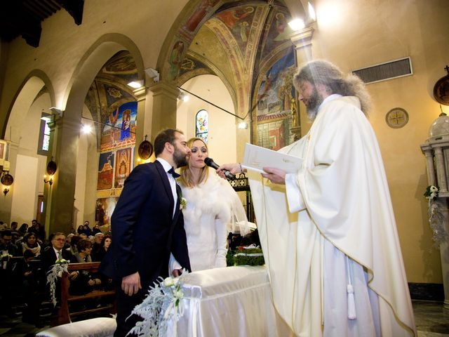 Il matrimonio di Stefano e Sara a San Miniato, Pisa 13