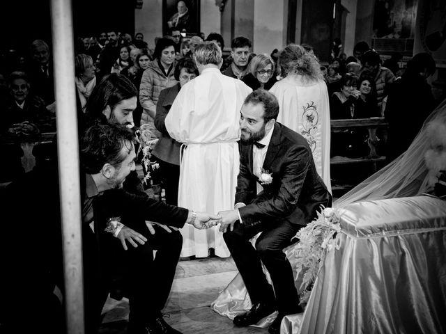 Il matrimonio di Stefano e Sara a San Miniato, Pisa 16