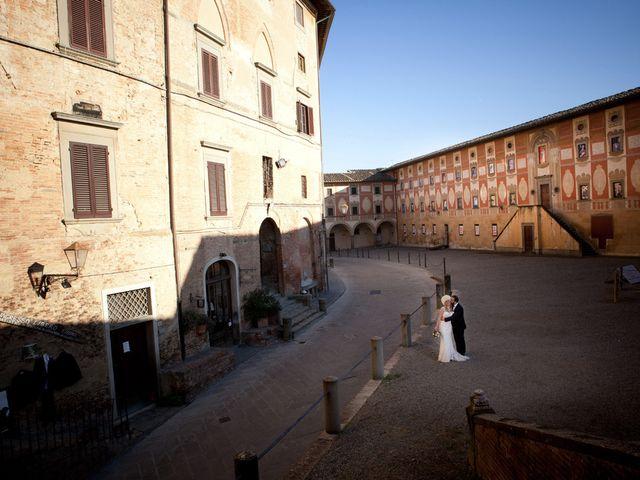 Il matrimonio di Stefano e Sara a San Miniato, Pisa 28