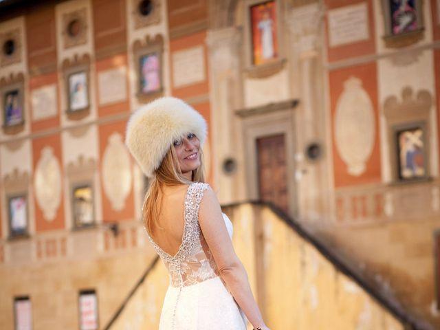 Il matrimonio di Stefano e Sara a San Miniato, Pisa 29