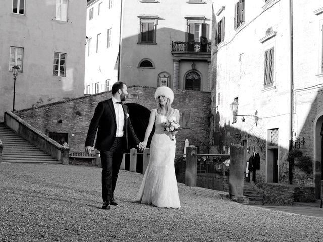 Il matrimonio di Stefano e Sara a San Miniato, Pisa 30
