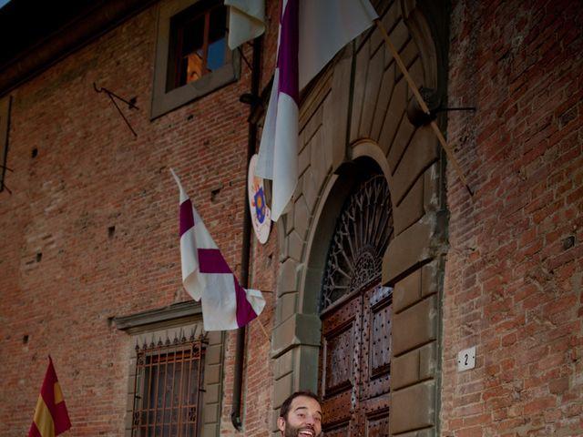 Il matrimonio di Stefano e Sara a San Miniato, Pisa 33