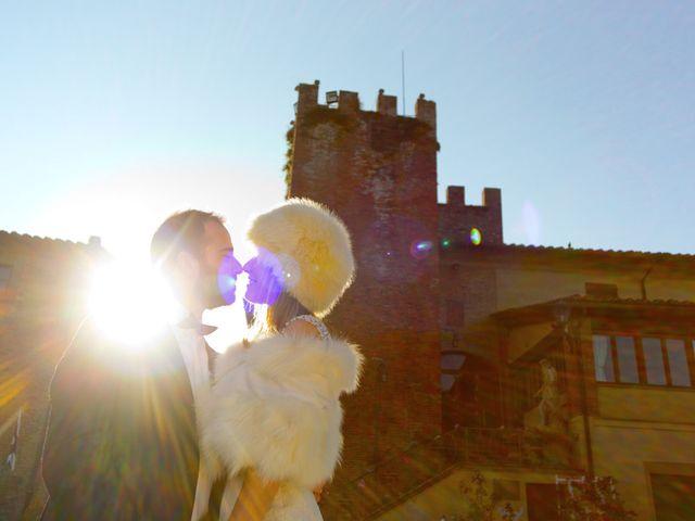 Il matrimonio di Stefano e Sara a San Miniato, Pisa 35