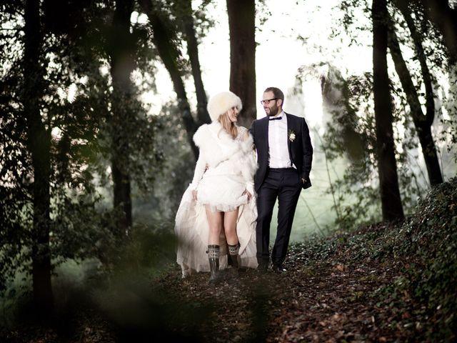 Il matrimonio di Stefano e Sara a San Miniato, Pisa 45