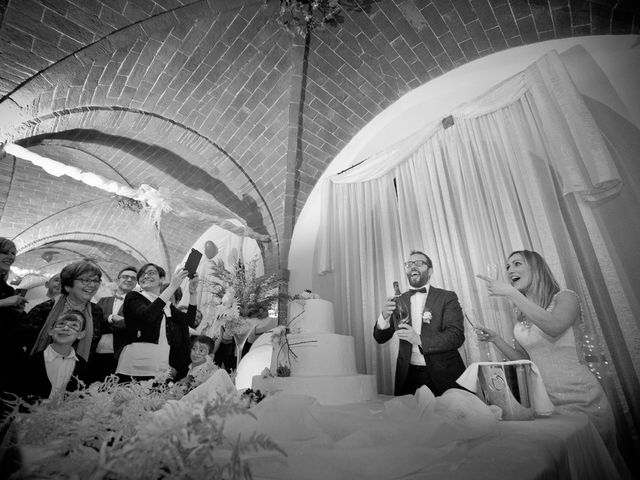 Il matrimonio di Stefano e Sara a San Miniato, Pisa 56