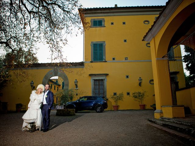 Il matrimonio di Stefano e Sara a San Miniato, Pisa 63