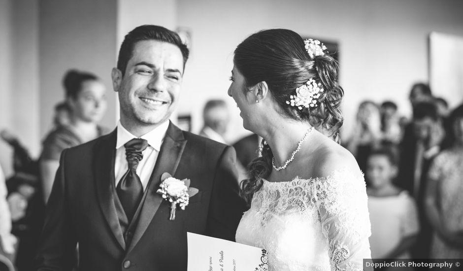 Il matrimonio di paolo e tatiana a Cornate d'Adda, Monza e Brianza