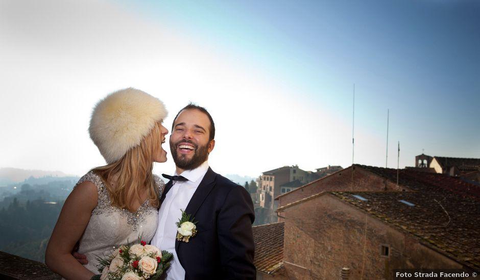 Il matrimonio di Stefano e Sara a San Miniato, Pisa