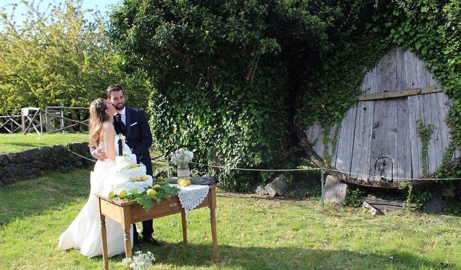 Il matrimonio di Saverio e Ester a Sant'Alfio, Catania