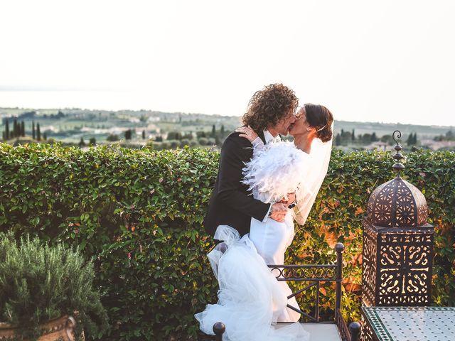 Il matrimonio di Jerri e Veronica a Costermano, Verona 27