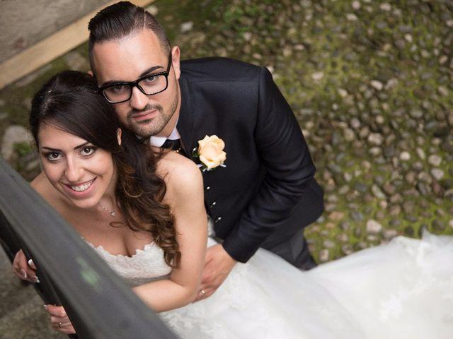 Il matrimonio di Raffaele e Giulia a Castelnuovo del Garda, Verona 82
