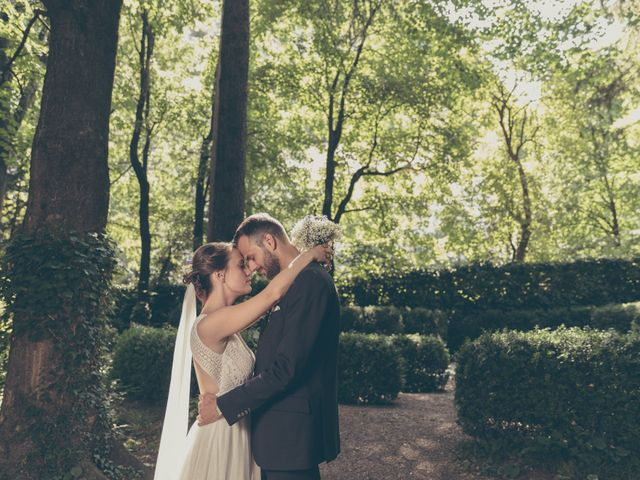 Le nozze di Sandra e Christoph