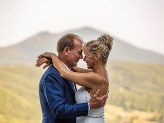 Le nozze di Linda e Allan