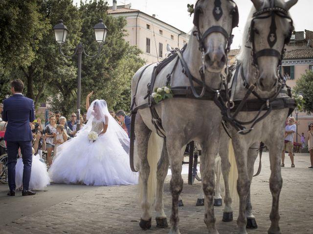 Il matrimonio di Samuele e Pamela a Chiaravalle, Ancona 11