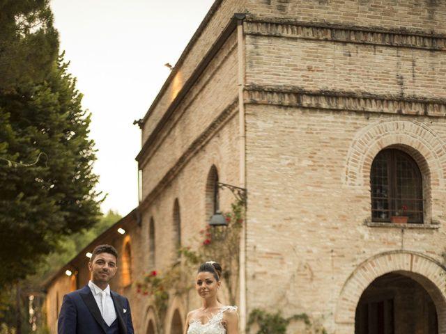 Il matrimonio di Samuele e Pamela a Chiaravalle, Ancona 24