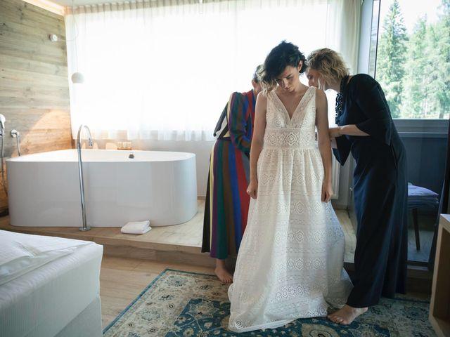 Il matrimonio di Valentina e Michele a Corvara in Badia- Corvara, Bolzano 11