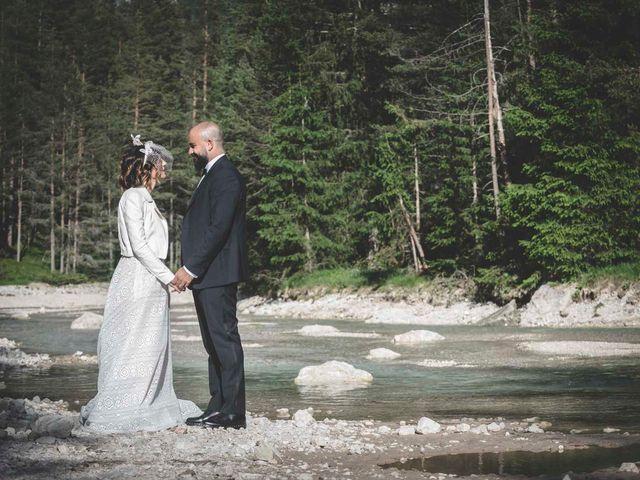 Il matrimonio di Valentina e Michele a Corvara in Badia- Corvara, Bolzano 76