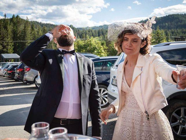 Il matrimonio di Valentina e Michele a Corvara in Badia- Corvara, Bolzano 82