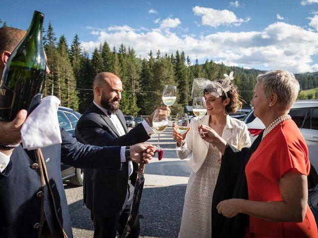 Il matrimonio di Valentina e Michele a Corvara in Badia- Corvara, Bolzano 84