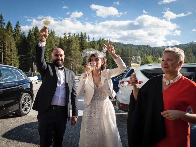 Il matrimonio di Valentina e Michele a Corvara in Badia- Corvara, Bolzano 85