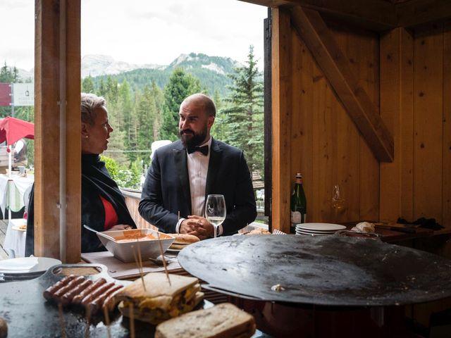 Il matrimonio di Valentina e Michele a Corvara in Badia- Corvara, Bolzano 90