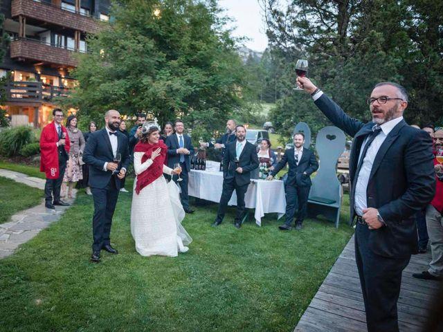 Il matrimonio di Valentina e Michele a Corvara in Badia- Corvara, Bolzano 97