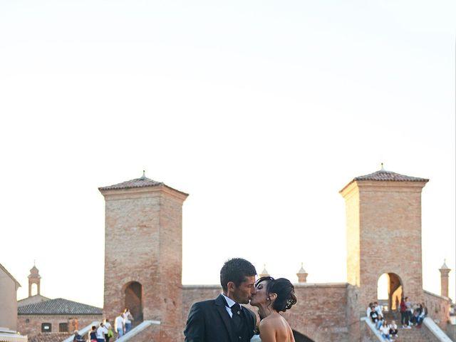 Il matrimonio di Dario e Lizzie a Comacchio, Ferrara 34