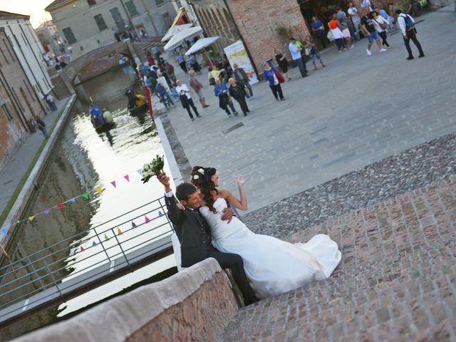 Il matrimonio di Dario e Lizzie a Comacchio, Ferrara 37