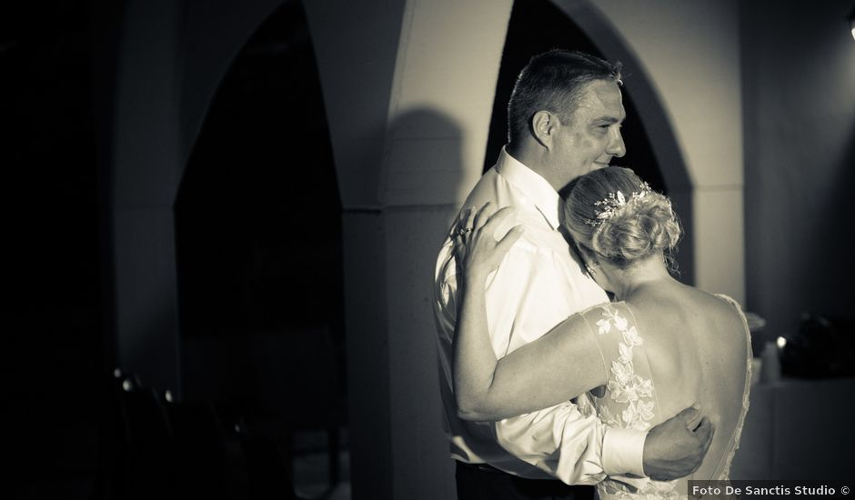 Il matrimonio di Bill e Lisa a Calascio, L'Aquila