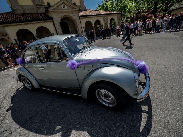 Il matrimonio di Omar e Michela a Selvino, Bergamo 55