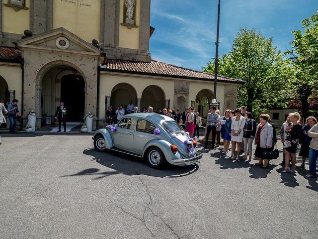 Il matrimonio di Omar e Michela a Selvino, Bergamo 56