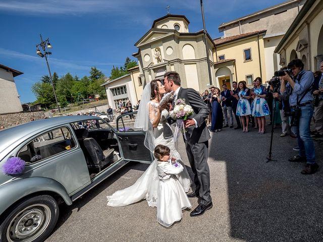 Il matrimonio di Omar e Michela a Selvino, Bergamo 62